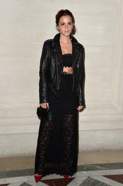 Emma Watson est toujours présente à Paris pour la Fashion Week !