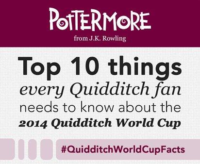 J.K. Rowling révèle 10 choses à savoir avant la finale de la coupe du monde de Quidditch
