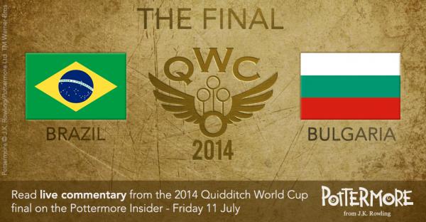 Live de la finale de la coupe du monde de Quidditch 2014