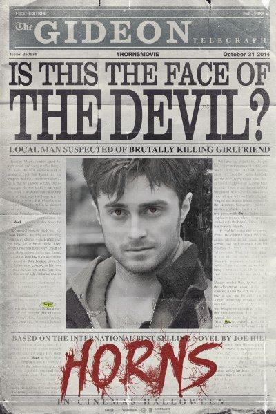 Découvrez Horns, le nouveau film de Daniel Radcliffe.