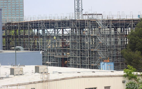 Le parc Harry Potter à Hollywood est en construction !