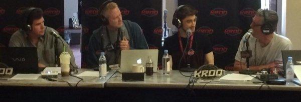 Daniel Radcliffe est à San Diego pour la promotion de Horns.