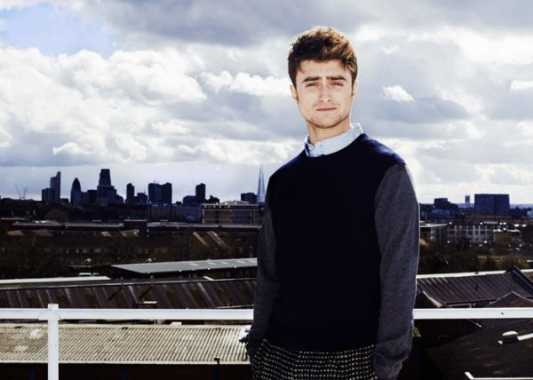 Daniel Radcliffe fait la une de The London Magazine.