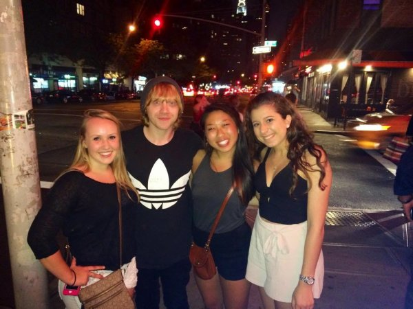 Rupert Grint aperçu à New York (26 juillet)