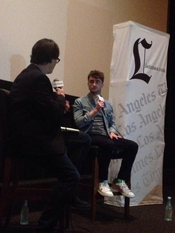 Daniel Radcliffe à Los Angeles pour la promotion de What If