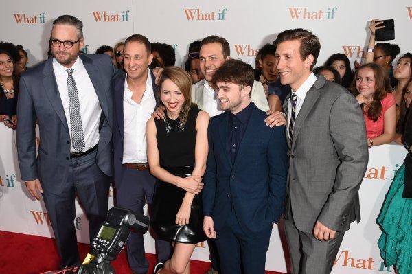 Avant-première de What If à New York (4 août)