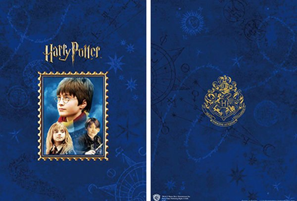 La nouvelle collection de timbres Harry Potter.