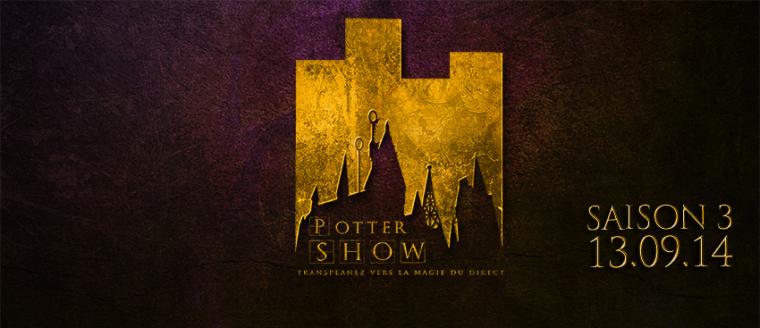 Pottershow : L'émission française des fans d'Harry Potter en direct de Youtube !