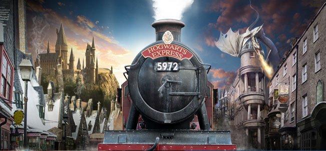 Le Poudlard Express du parc Harry Potter d'Orlando : déjà un million de visiteurs !