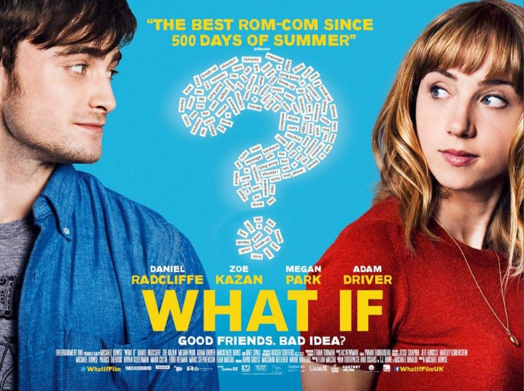 Avant-première de What If à Londres avec Daniel Radcliffe. (12 août)
