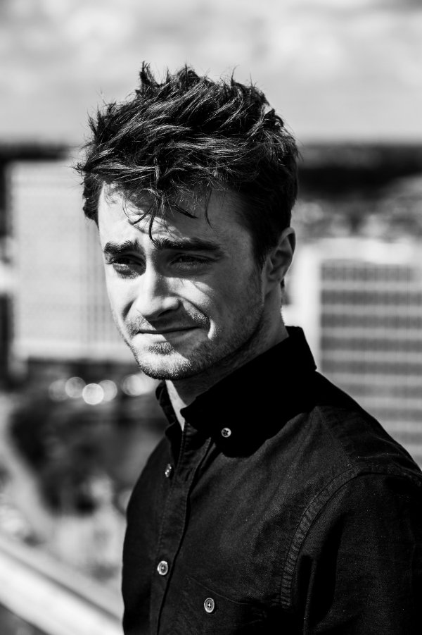 Daniel Radcliffe à Copenhague pour la promotion de What If. (13 août)