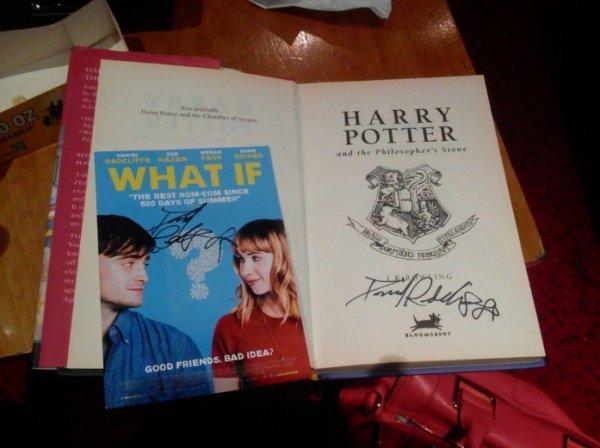 Daniel Radcliffe à Dublin pour l'avant-première de What If. (15 août)