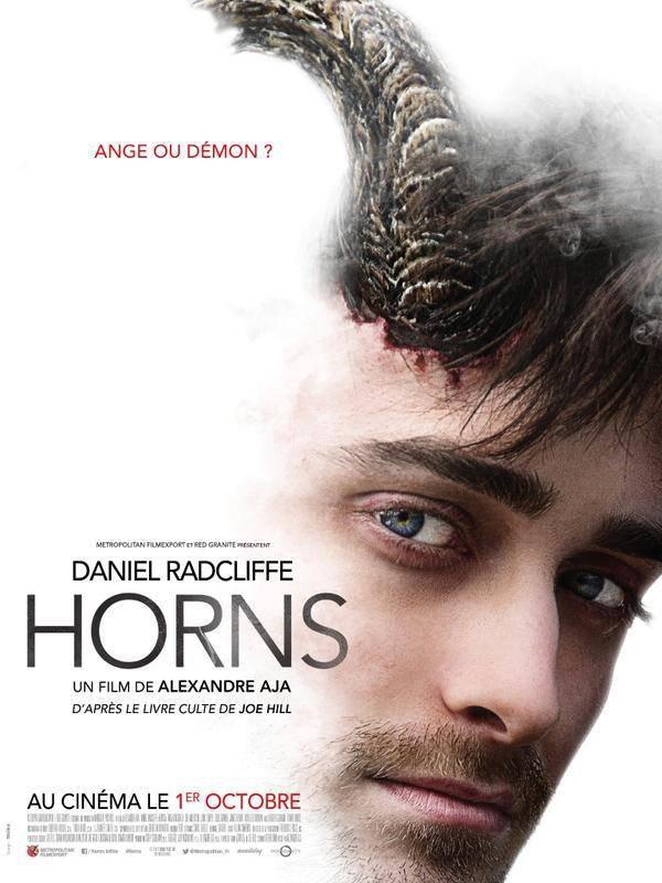 Affiche française de Horns (Daniel Radcliffe)