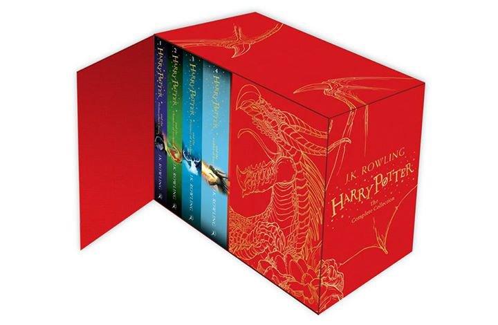 Nouvelle collection anglaise des livres Harry Potter avec du contenu inédit !