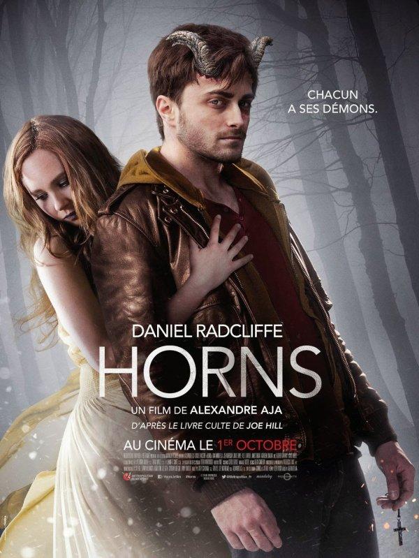 Nouvelle affiche française d'Horns avec Daniel Radcliffe