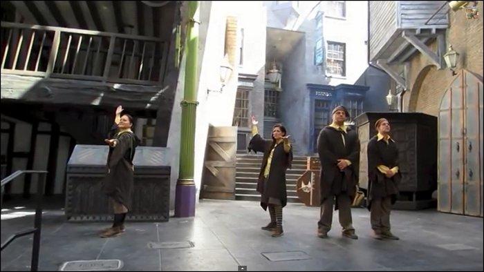 """""""La Fontaine De La Bonne Fortune"""" : Le nouveau spectacle du parc Harry Potter à Orlando !"""