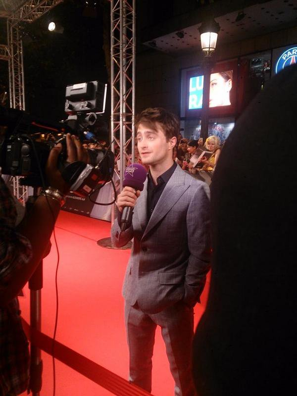 Daniel Radcliffe à Paris pour la promotion d'Horns !