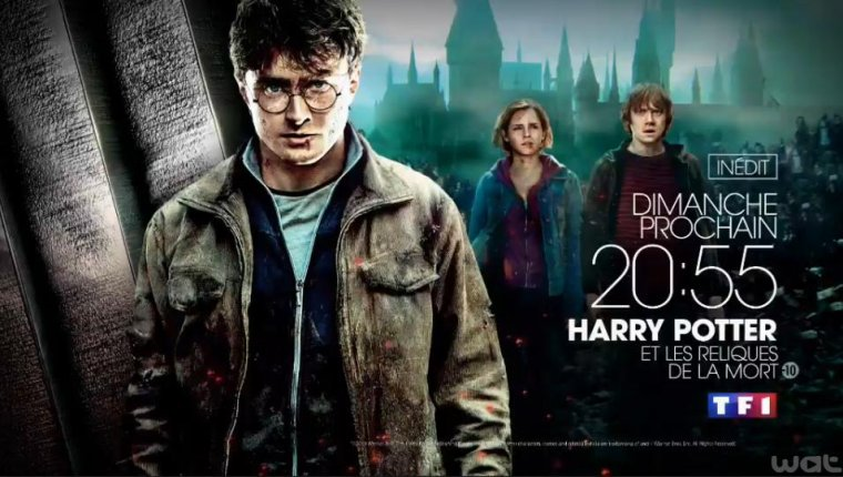 HP7.2 dimanche prochain sur TF1 !