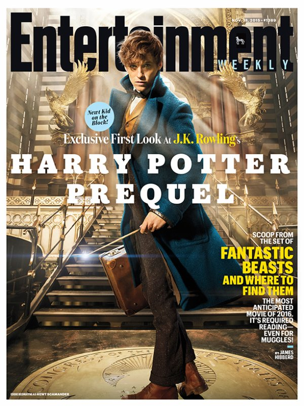 Premières images officielles de Fantastic Beast and where to find them !
