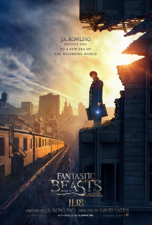 Nouvelle affiche promotionnelle des Animaux Fantastiques !