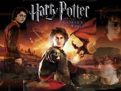 Affiche montage de Harry Potter et la coupe de feu
