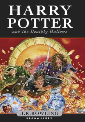 La couverture de Harry Potter And The Deathly Hallows