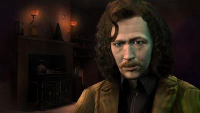 Sirius Black dans le jeu vidéo de l'#OrdreDuPhénix.