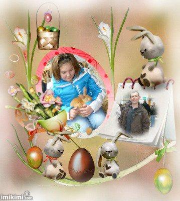 lea manon cassandra avec lerpetit lapin