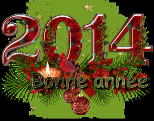 MES AMIES ET AMIS JE VOUS SOUHAITE UNE BONNEANNEE  2014
