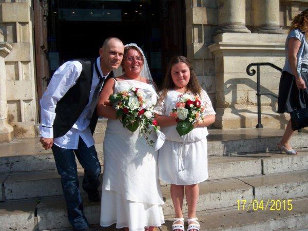 le mariage de notre fille