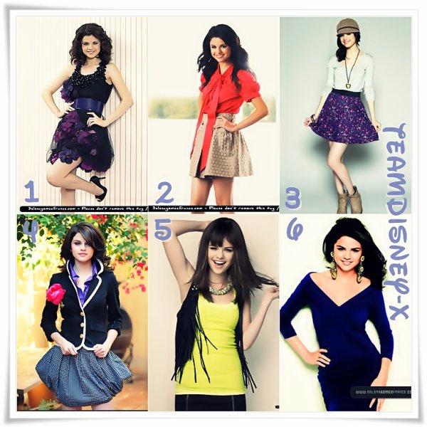 Tenue de Selena Gomez