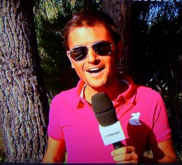 """Christophe Beaugrand aime """"Ludovic BUN"""" !  L'animateur de TF1 a porté  pour la 3ème fois le polo """"Western Australia"""" dans l'émission 50min INSIDE"""