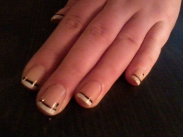 Articles de nailart elodie tagg s manucure nail art - Deco french manucure ...