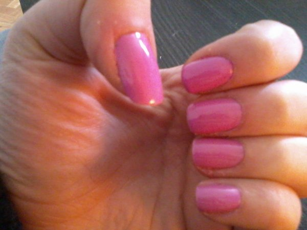 Vernis Rose Girly