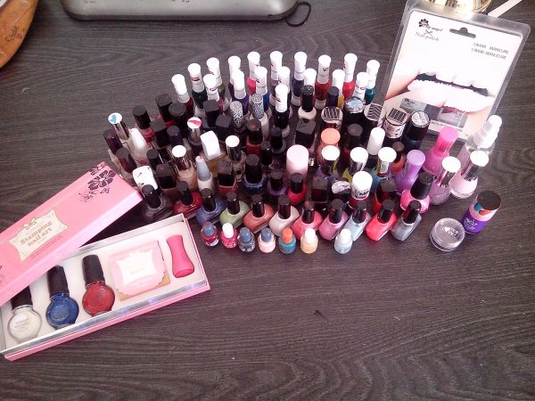 Collection de vernis