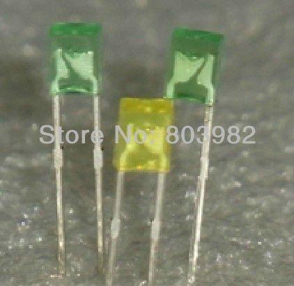 leds 3 mm ou 5 mm, carrées,rectangles ou ronds à vendre
