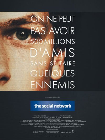 The social network : le 27 octobre au cinéma !