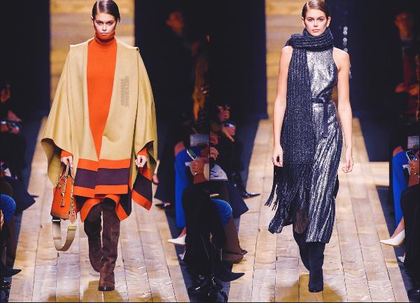 - Kaia G. défilait pour la marque Michael Kors à la Fashion Week de New-York City. -