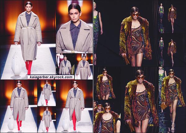 - Kaia Gerber défilait pour la marque TOD'S à la Fashion Week de Paris, France. -