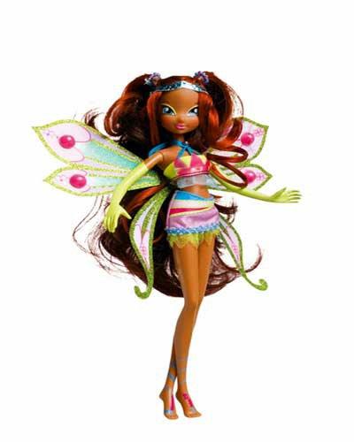 Layla enchantix doll italienne et les winx saison 1 italienne