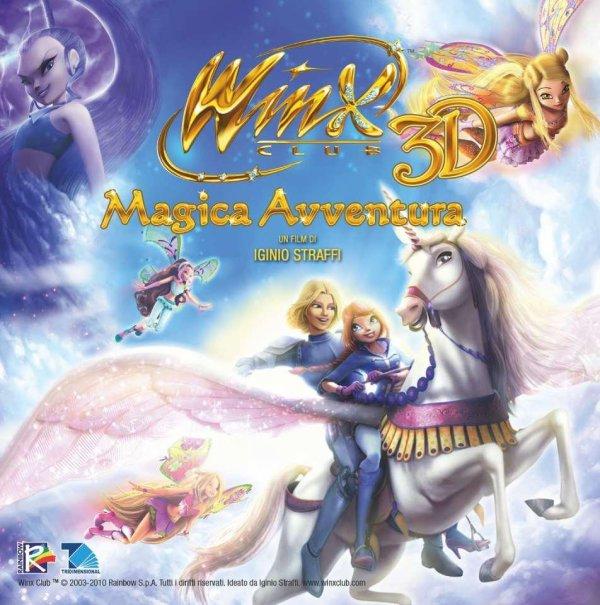 Winx Club Magica Avventura pochette du CD