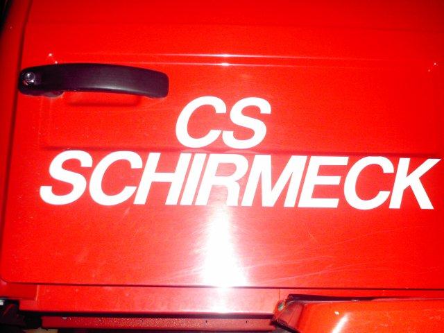 pompiers de schirmeck