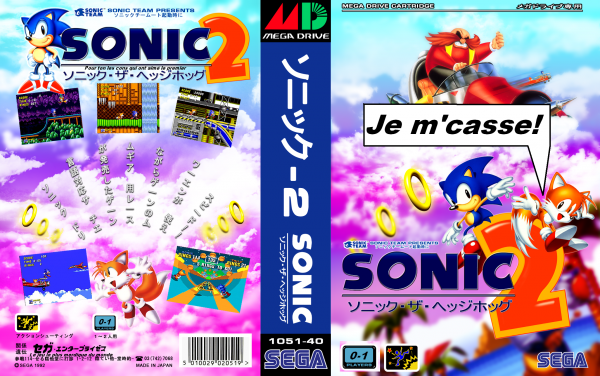 Les aventures de Sonic : Générique + paroles + montages+blague