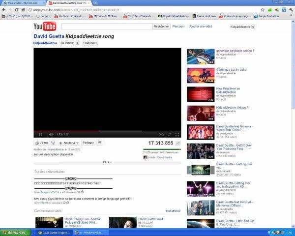Kidpaddleetcie song,merci David Guetta XD!