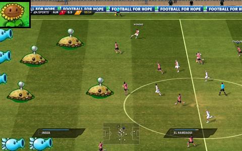 """Fifa 2011"" Versus ""Plantes vs Zombies"""