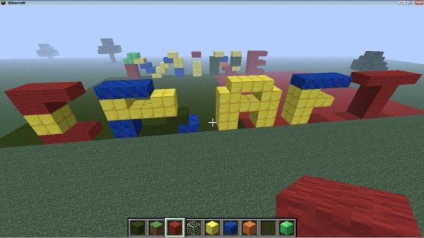 Des LEGO à Minecraft!
