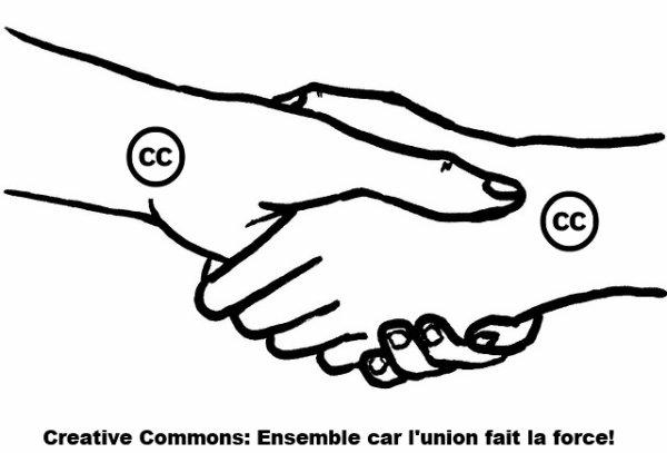 """Toutes les licences de type """"Creative Commons""""!"""