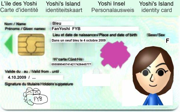 La carte d'identité de FanYoshiBleu
