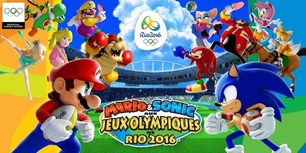 Mario et Sonic aux jeux olympiques de Ryo 2016!