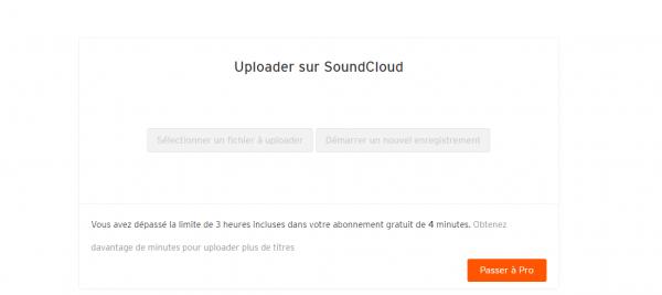 RIP mon SoundCloud!